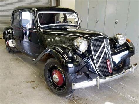 citroen traction avant vintage car collector