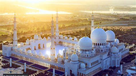Abu Dhabi Mosque Wallpaper by Sunset Abu Dhabi Sheikh Zayed Grand Mosque United Arab