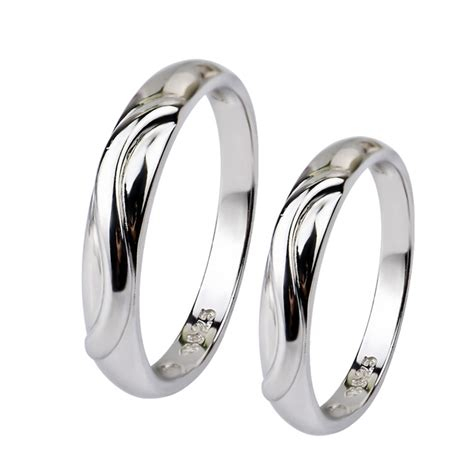 comfort solid  sterling silver wedding plain band
