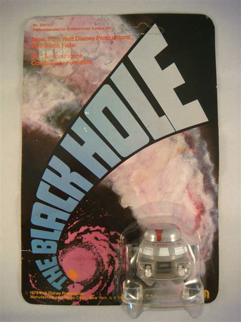 Mego's The Black Hole Action Figures (1979) | 2 Warps to ...