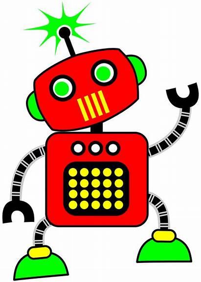 Robot Clipart Graphics Clip Robots Space Treasures