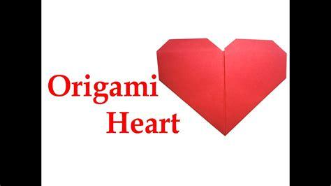 origami love heart  easy diy crafts