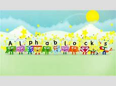 Check out these Alphablocks! Brecknock Primary School