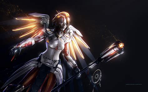 wallpaper mercy overwatch hd games