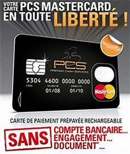 La Carte Prpaye PCS Mastercard Maxi Crdit Crdit