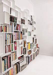 Bibliothèque Moderne Design : rangement couloir les bonnes id es d 39 am nagement c t maison ~ Teatrodelosmanantiales.com Idées de Décoration