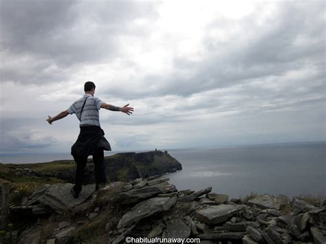 Near Death At The Cliffs Of Moher  Habitual Runaway Tours