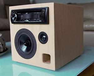 Bluetooth Box Selber Bauen : sat 125 diesmal buche pappel sandwichgeh use mit autoradio als mobile anlage autoradio diy ~ Watch28wear.com Haus und Dekorationen