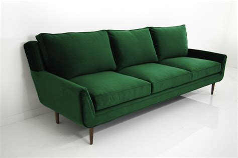 Green Sofa by Stockholm Sofa In Emerald Green Velvet Modshop