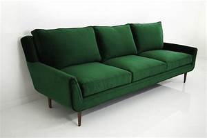 stockholm sofa in emerald green velvet modshop With emerald green sectional sofa