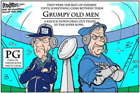 Grumpy Old Men Go To The Super Bowl