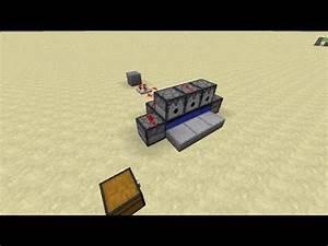 Minecraft TNT machine gun (fully automatic) - YouTube