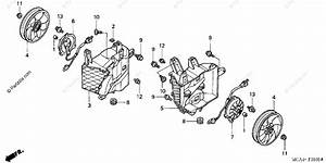 Honda Motorcycle 2002 Oem Parts Diagram For Cooling Fan