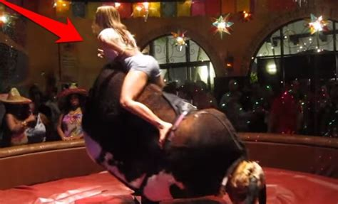 hottest mechanical bull ride