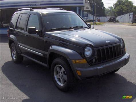 black jeep liberty 2006 black jeep liberty sport 4x4 16896775 photo 4