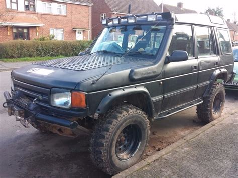 Land Rover Discovery Modification by Modified Land Rover Discovery Road 4x4 1997 300tdi