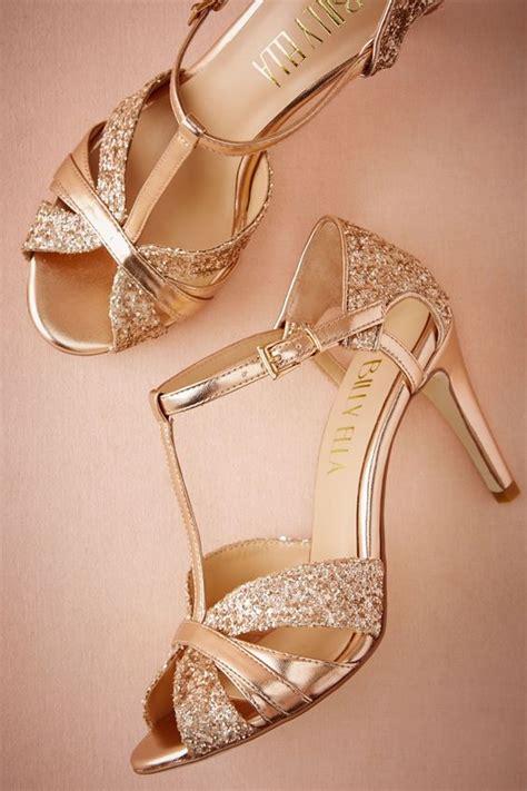 drop dead gorgeous gold wedding shoes ideas