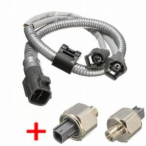 2 Knock Sensor With Wire Harness For Toyota Camry Avalon