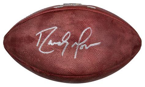 Lot Detail Randy Moss Autographed Nfl Football Radtke Coa