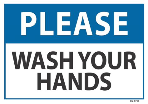 what is the standard size of a toilet wash your industrial signs