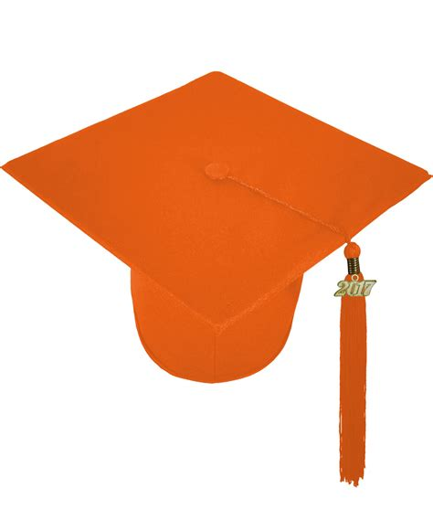 matte orange matte orange cap and gown rs4251465611355