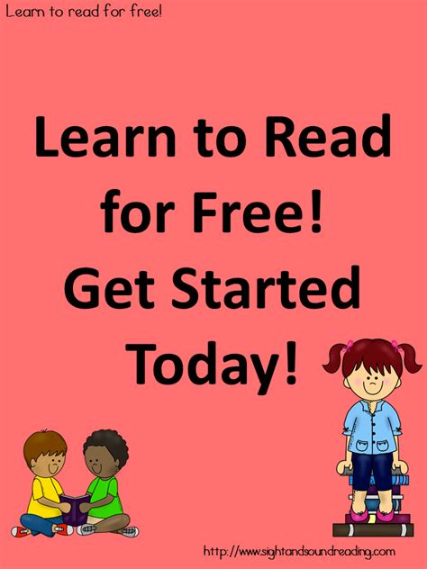 Learn To Read Free! Getting Started, How To Use