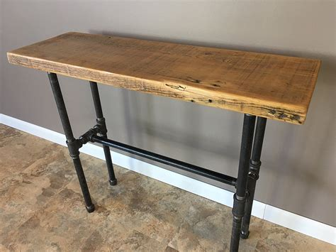 entry hall table height barnwood sofa table barnwood sofa table ng471 sisters log