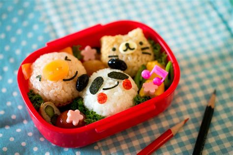 eat in kitchen ideas character bento recipe sbs food