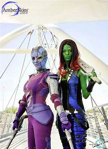 Guardians of the Galaxy Cosplay: Nebula & Gamora - Sci-Fi ...