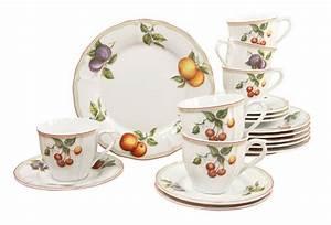 Kaffeeservice 18 Teilig : kaffeeservice 18 teilig flora orchard kaufen otto ~ One.caynefoto.club Haus und Dekorationen