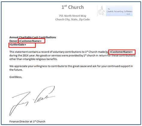 church contribution letter charlotte clergy coalition