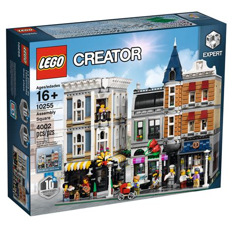 Lego Creator Expert 10255 Assembly Square L'annonce