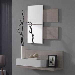 Miroir D Entrée : meuble d 39 entr e avec miroir moderne veraty meuble d 39 entr e miroir pinterest miroirs ~ Teatrodelosmanantiales.com Idées de Décoration