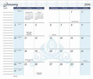 pocket calendar template With pocket schedule template