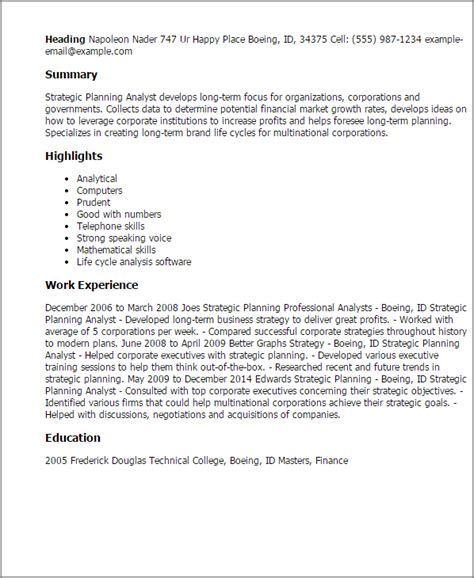 strategy analyst cover letter strategic planning cover letter 28 images strategic planning cover letter 6400 strategic