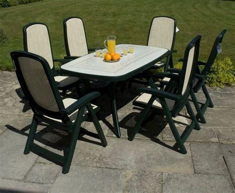 tavolo da giardino plastica tavoli in plastica da giardino mobili giardino tavoli