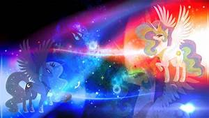 Luna and Celestia wallpaper - My Little Pony: Friendship ...