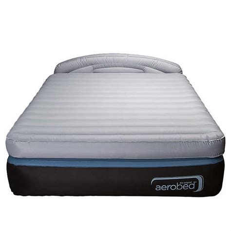 aerobed opti comfort air mattress with headboard cing airbed bedding