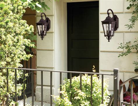 how to install outdoor wall lights