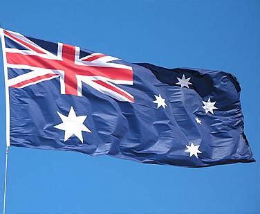 flag pole full set kit  australian flag outdoor