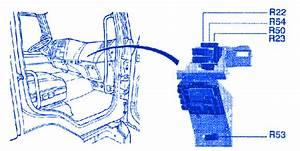 Renault Midlum 2005 Relay Fuse Box    Block Circuit Breaker