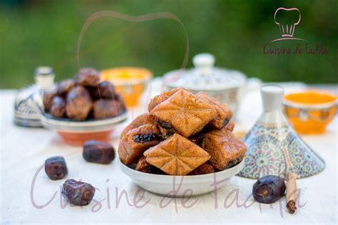 cuisine marocaine makrout aux dattes makrout aux dattes et au miel cuisine de fadila