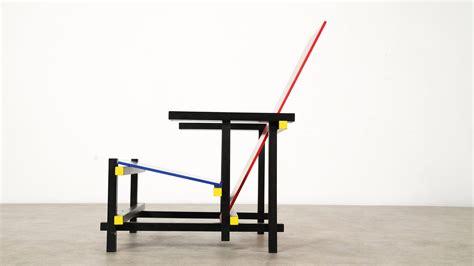 Gerrit Rietveld Stuhl by Gerrit Rietveld Blue Chair