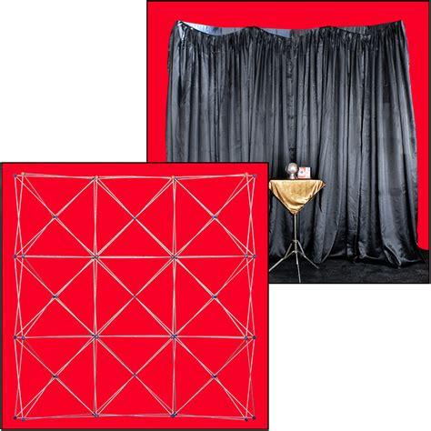 structure et rideau de fond de sc 232 ne noir magic effect