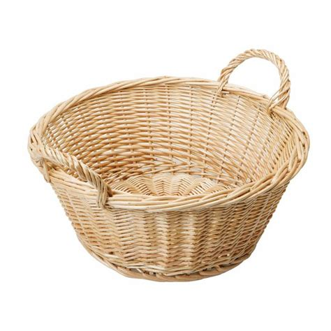 Download for different resolutions for designing purposes. Round Wicker Basket with Handles | Baskets | WBC