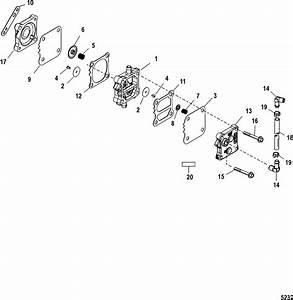 Fuel Pump For Mariner    Mercury 135  140  150  200  Xr6  Magnum