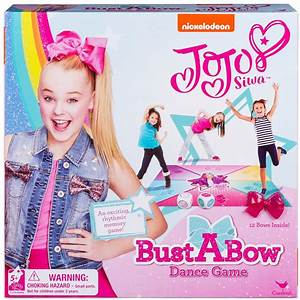 Amazon.com: Cardinal Games JoJo Siwa Bust A Bow Dance ...