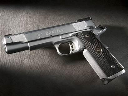 Waffen Hintergrundbilder Wallpapers Pistole Metall Resolution