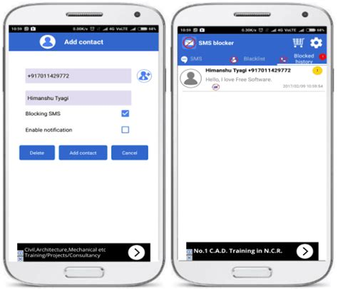 sms blocking app for android 5 sms blocker apps for android to block sms from specific
