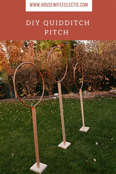 three boys one diy quidditch pitch eclectic